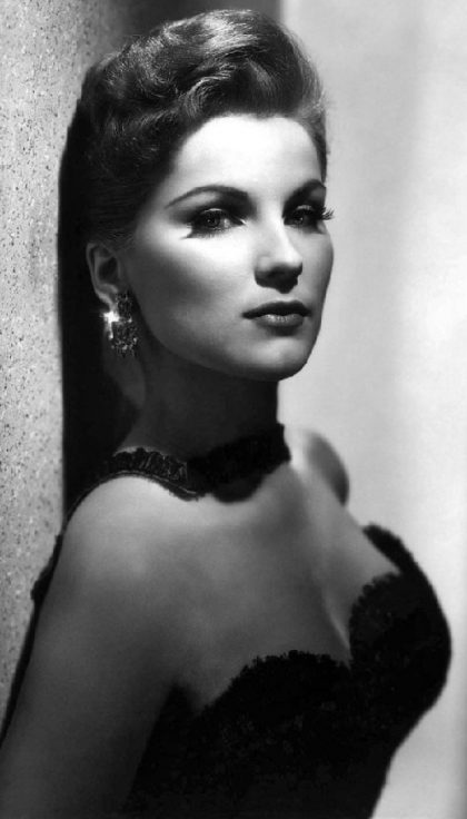 Stunning beauty, vintage actress Debra Paget