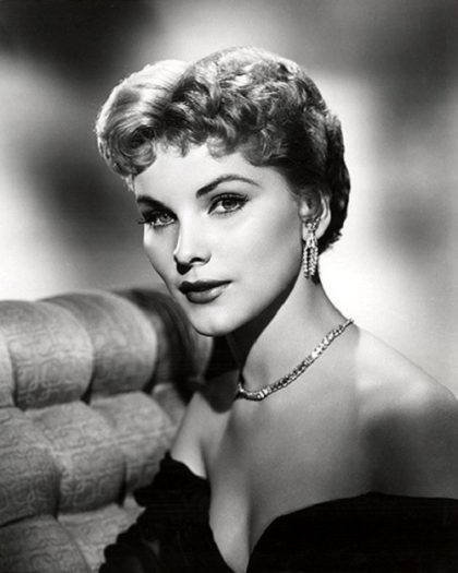 Jewelry lover Debra Paget