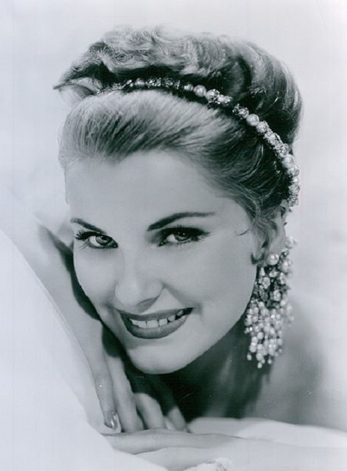 Vintage actress Debra Paget