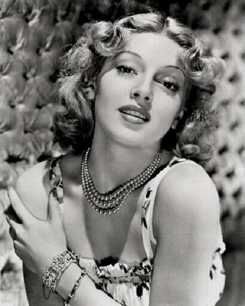 Hollywood diva Lana Turner (February 8, 1921 – June 29, 1995)