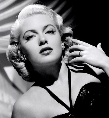 Beautiful actress Lana Turner