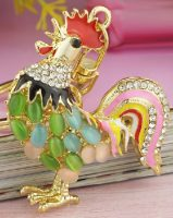 Key ring - pendant Rooster
