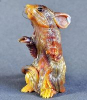 Agate carving, mouse