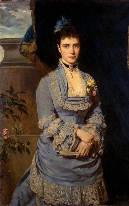 Maria Feodorovna, the wife of Emperor Alexander III