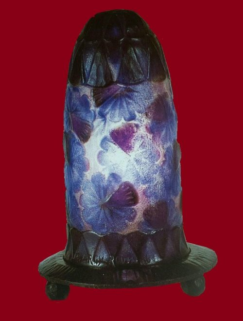 Beautiful glass vase
