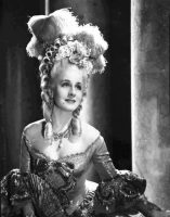 Magnificent Norma Shearer in the role of Marie Antoinette (1938)