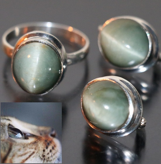 Chrysoberyl cat's eye favorable effects