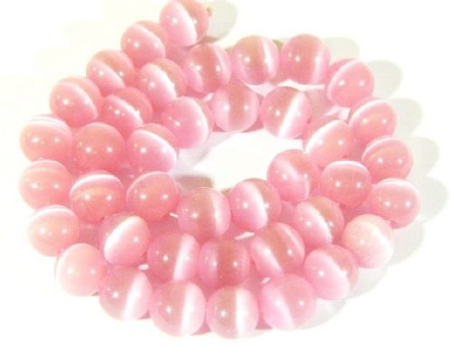 Pink color cat's eye