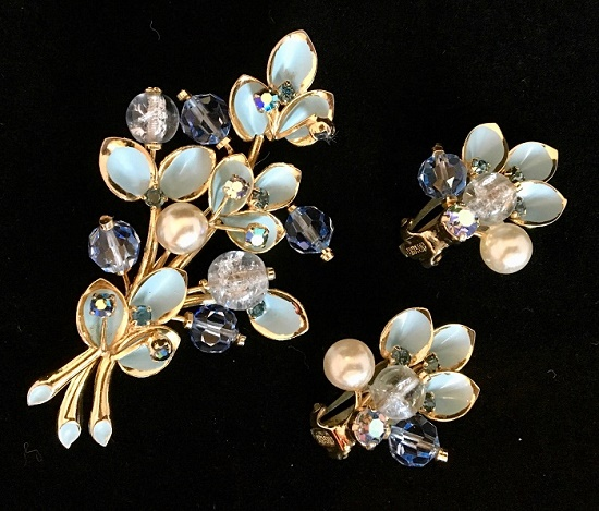 Louis Kramer exquisite costume jewelry