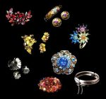 Exquisite Vintage costume jewelry