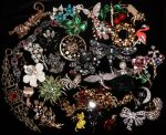 Welcome back vintage brooches