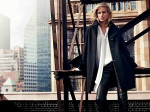 Carolyn Murphy by Hunter & Gatti campaign Massimo Dutti NYC 2013