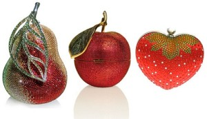 Jewellery handbags by Judith Lieber