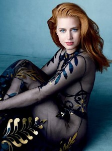 Amy Adams and Tim Burton for Vogue
