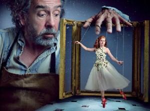 Amy Adams and Tim Burton for Vogue