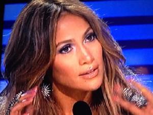 Jennifer Lopez in Bochic on American Idol