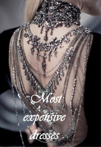 Most expensive dresses