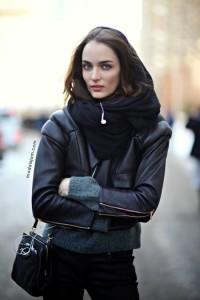 Brunette beauty Polish Model Zuzanna Bijoch