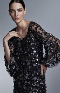 Polish fashion model Zuzanna Bijoch