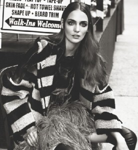 Gorgeous Polish fashion model Zuzanna Bijoch in NYC