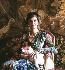 She came from an aristocratic family – nee Countess Glauchau