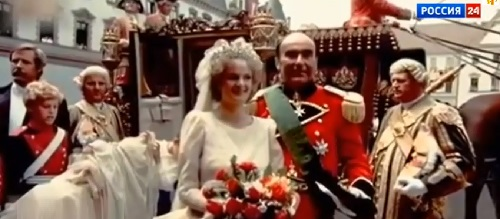 Wedding day of Princess Gloria and Johannes Prinz von Thurn und Taxis
