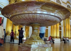 Famous Vase of aventurine at the Hermitage