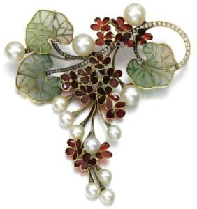 plique-à-jour enamel jewelry