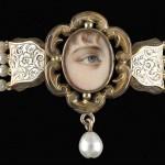 Eye miniature jewellery