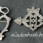 Scottish Luckenbooth brooch