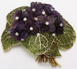 Plique-a-jour enamel jewellery