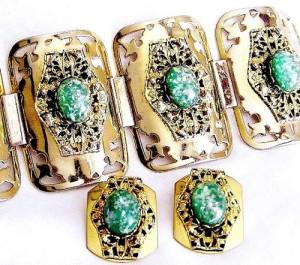 Golden Selro bracelet