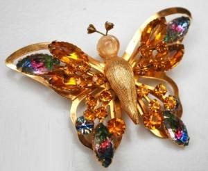 Butterfly Selro brooch