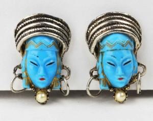 Blue Selro Selini Earrings