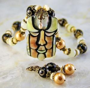 Jewelry artist Olga Buryanova