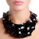Plastic jewellery by Alexandra Burkina