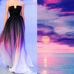 Elie Saab Spring-Summer 2014. Pink sunset