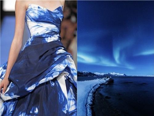 Nature inspired fashion, project by Russian designer Liliya Hudyakova