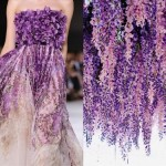 Giambattista Valli Fall-Winter 2014-15. Wisteria Laurabagozzi