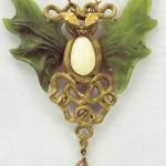 Wilhelm Lucas von Cranach Art Nouveau jewellery