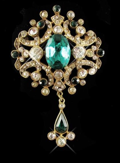 'Crystal' brooch
