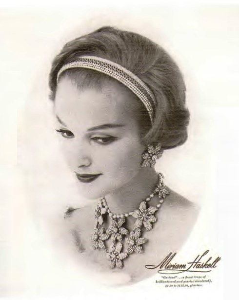 Exquisite Miriam Haskell jewellery