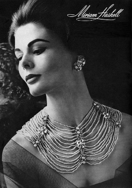 Miriam Haskell Jewellery Kaleidoscope Effect