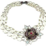 High jewelry art - Miriam Haskell necklace