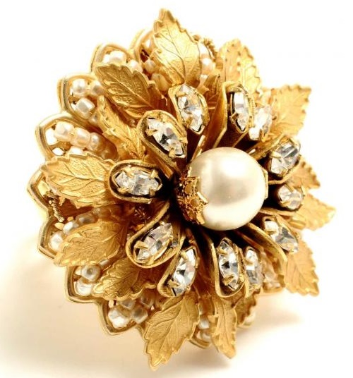 Miriam Haskell ring