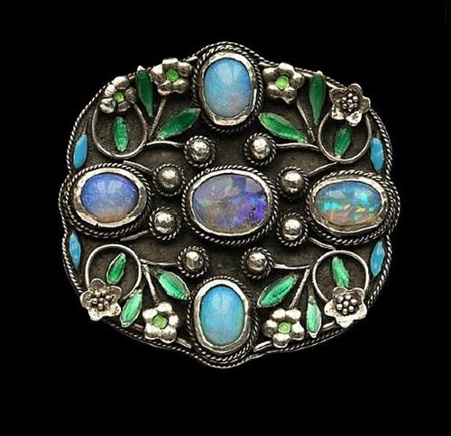 Arthur and Georgie Gaskin jewellery