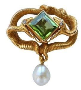 Cranach Art Nouveau jewellery