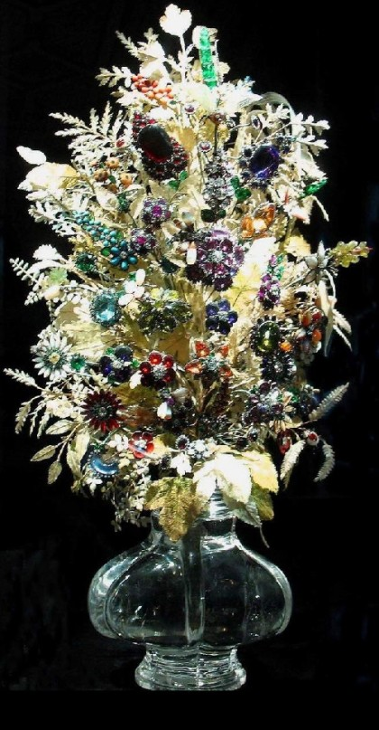 Imperial bouquet jewellery