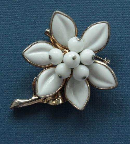 1960 Edelweiss brooch