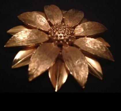 Flower brooch, 1970